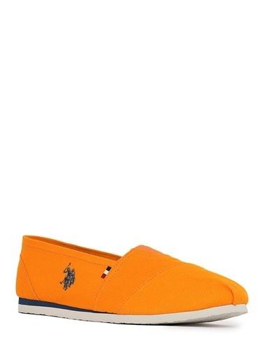 U.S.Polo Assn. Casual Ayakkabı Oranj